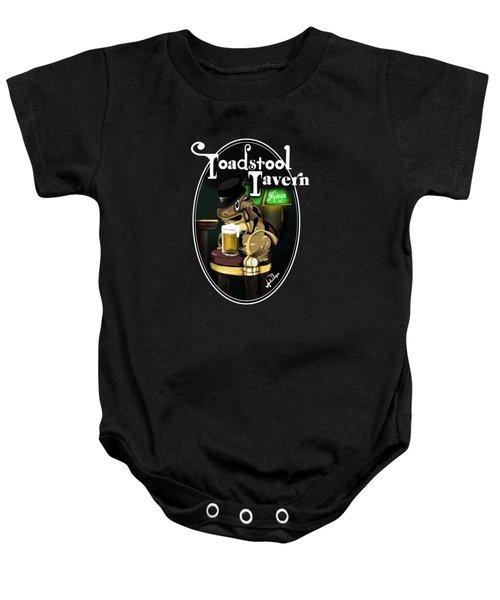 Toadstool Tavern  Baby Onesie