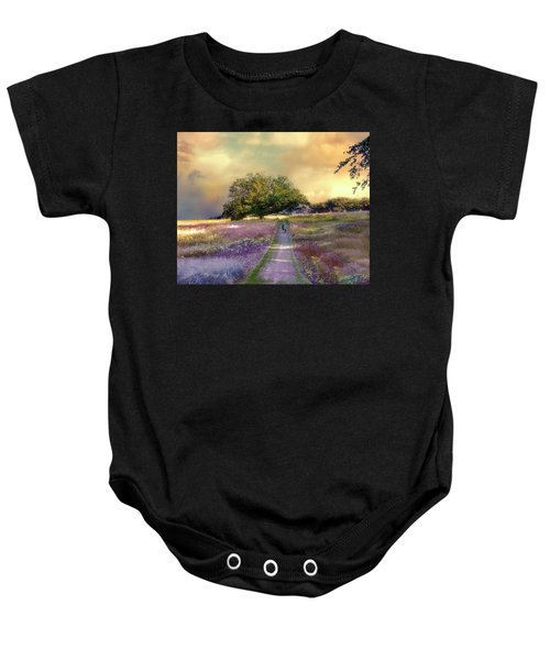 Together We Can Weather The Storms Baby Onesie