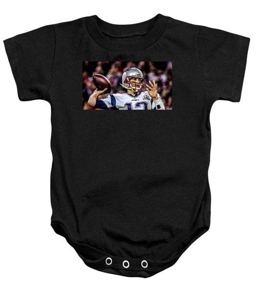 Tom Brady - Touchdown Baby Onesie