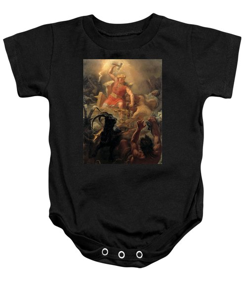 Tor's Fight With The Giants Baby Onesie