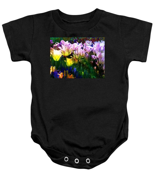 Totally Tulips Baby Onesie