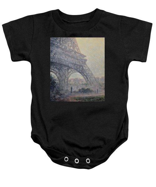 Paris , Tour De Eiffel  Baby Onesie