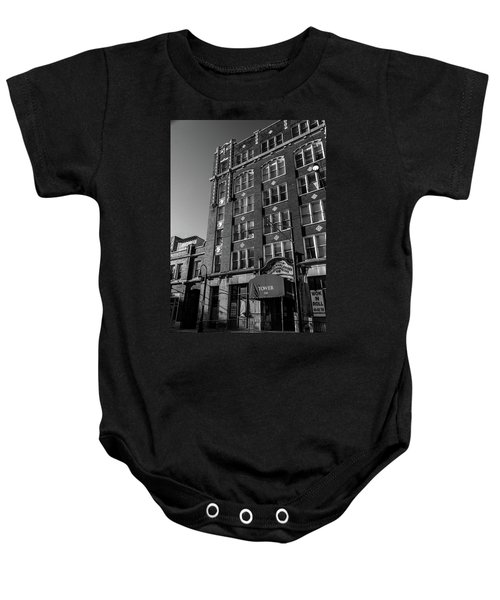 Tower 250 Baby Onesie