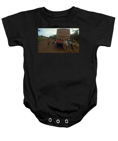 Baby Onesie featuring the photograph Trans Amazonian Highway, Brazil by Travel Pics