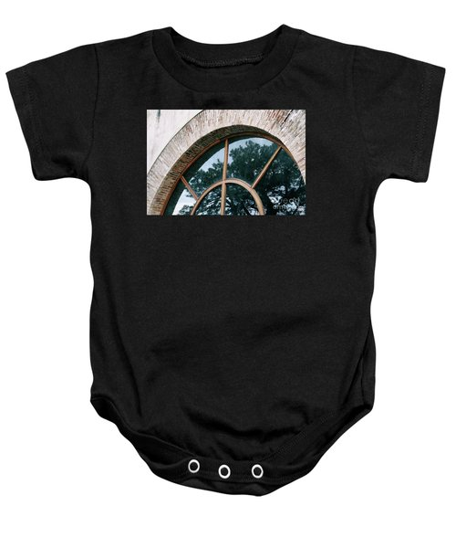 Trapped Tree Baby Onesie