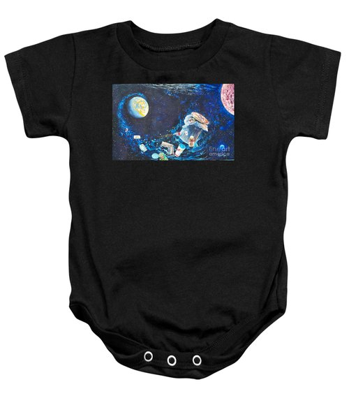 We Loved Earth At One Time - Yes We Did. Baby Onesie