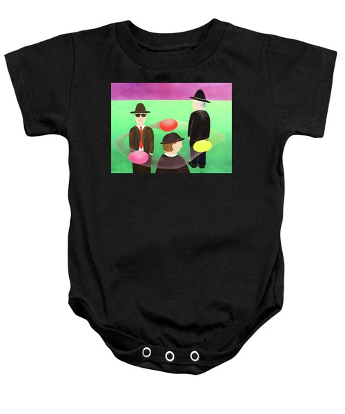 Traveling In The Right Business Circles Baby Onesie