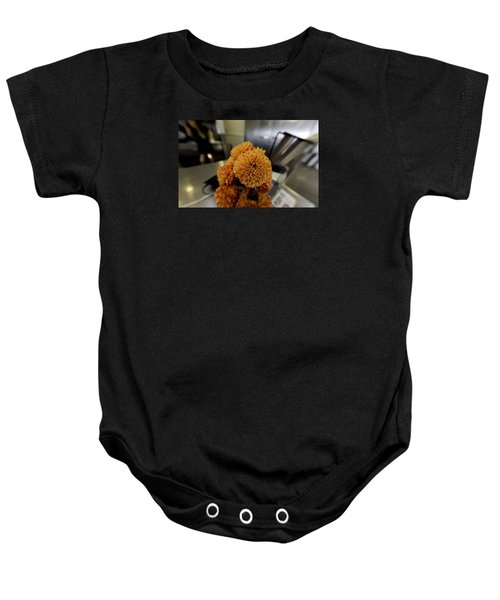 Baby Onesie featuring the photograph Treats At The Ice Cream Parlor by Lora Lee Chapman