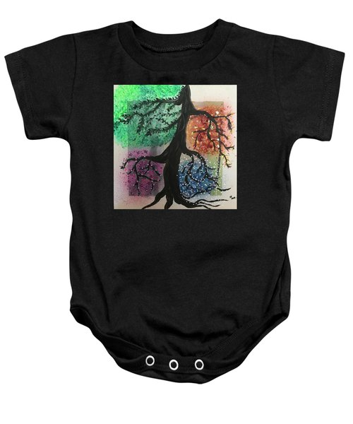Tree Of Life Baby Onesie