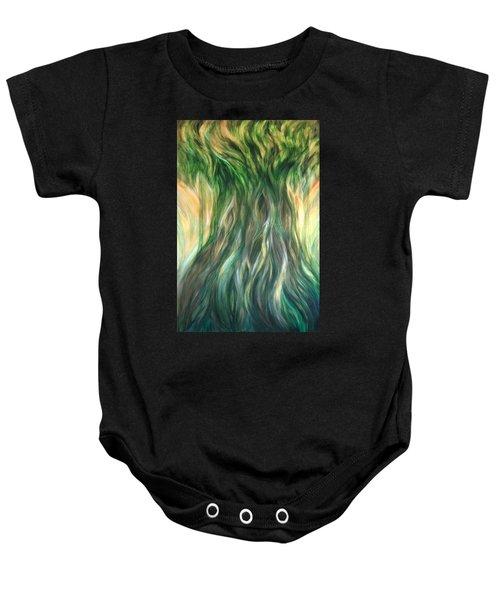 Tree Of Wisdom Baby Onesie