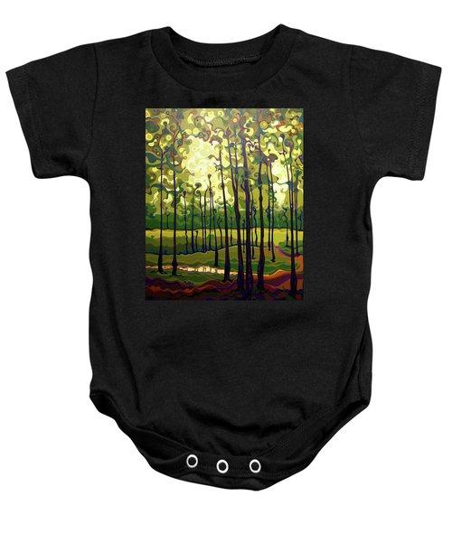Treecentric Summer Glow Baby Onesie