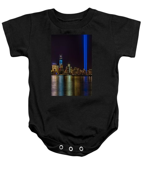 Tribute In Lights Memorial Baby Onesie