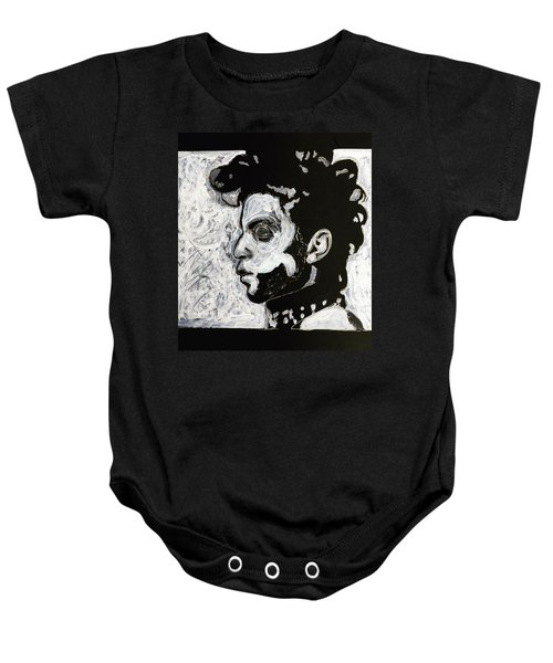 Tribute To Prince Baby Onesie