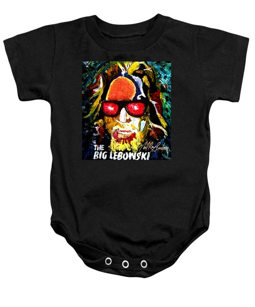 tribute to THE BIG LEBOWSKI Baby Onesie