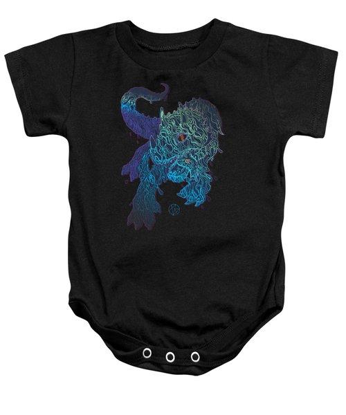 Triceratrippin Baby Onesie