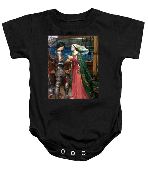 Tristan And Isolde With The Potion Baby Onesie