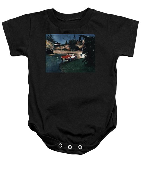 Triumph By Night Baby Onesie