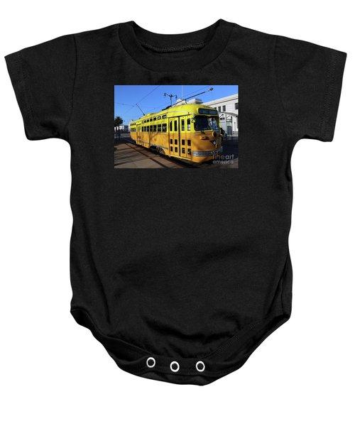 Trolley Number 1052 Baby Onesie