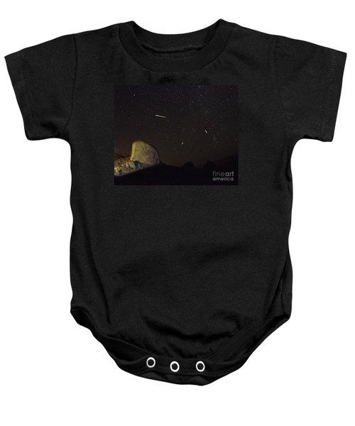 Trona Pinnacles Perseids Meteor Shower Baby Onesie