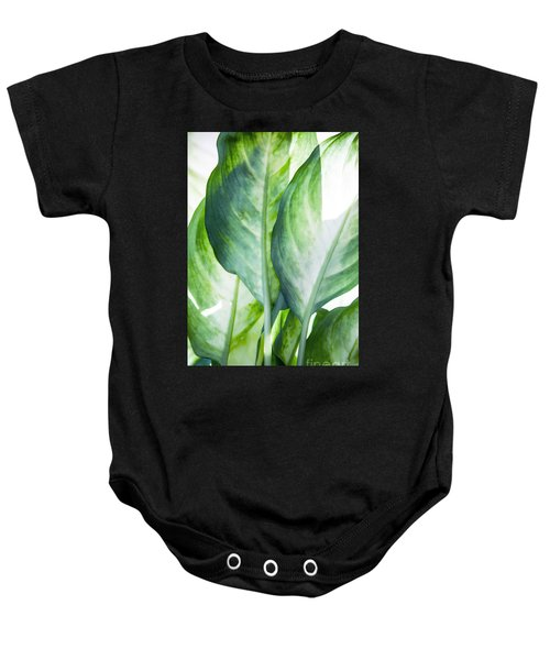 Tropic Abstract  Baby Onesie