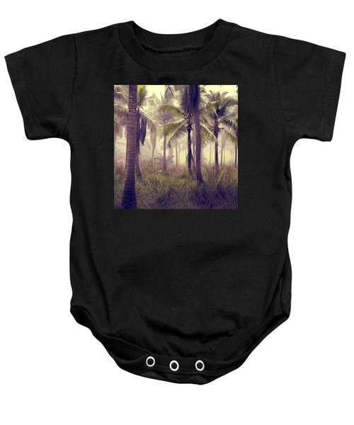 Tropical Forest Baby Onesie