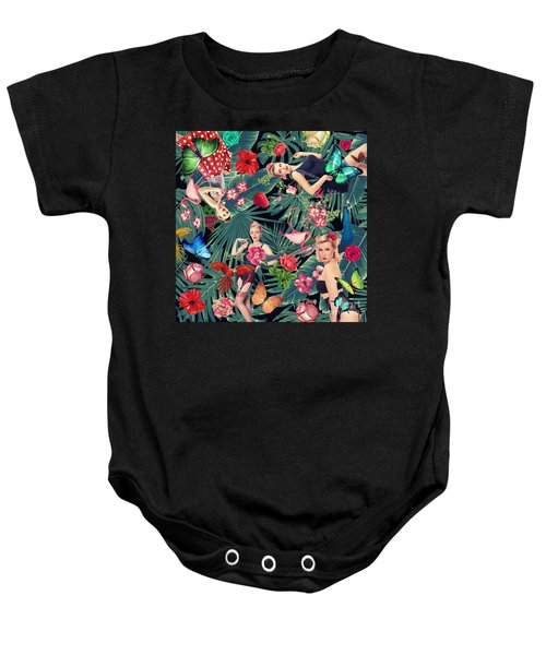 Tropical Fun Sexy  Baby Onesie