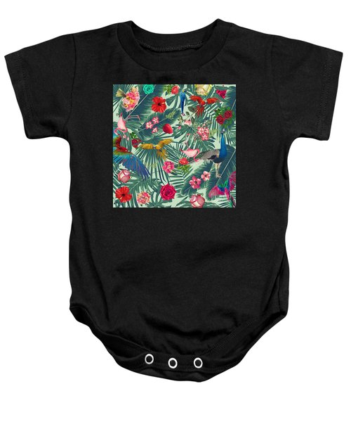 Tropical Fun Time  Baby Onesie