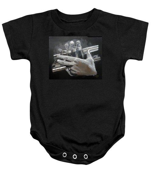 Trumpet Hands Baby Onesie