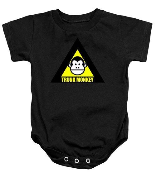 Trunk Monkey Baby Onesie