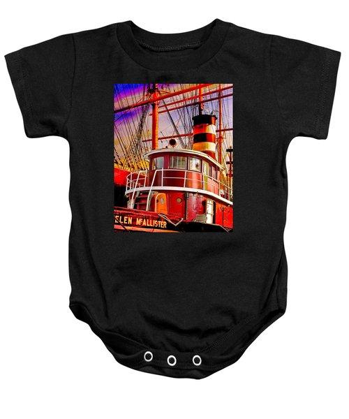 Tugboat Helen Mcallister Baby Onesie
