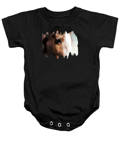 Tumbleweed Up Close Baby Onesie
