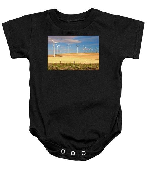 Turbine Line Baby Onesie