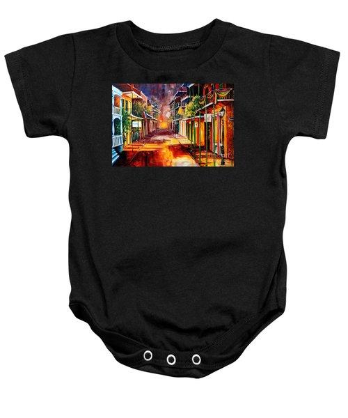 Twilight In New Orleans Baby Onesie