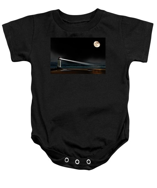 Two Guiding Lights Baby Onesie