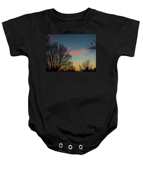 Two Planes Baby Onesie