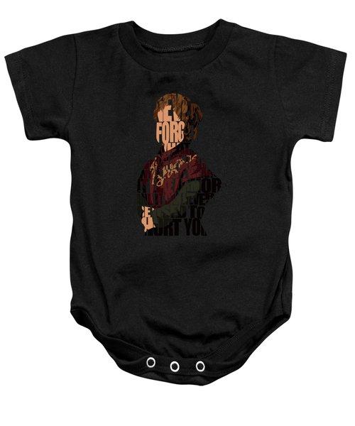 Tyrion Lannister Baby Onesie