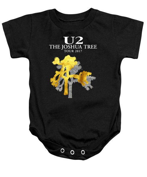U2 Joshua Tree Baby Onesie