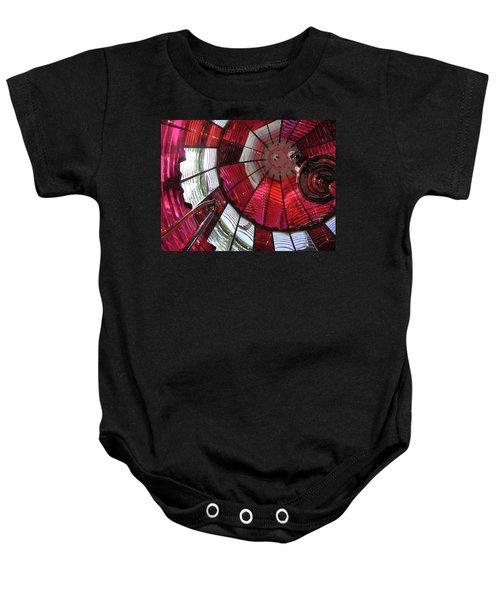 Umpqua River Red Baby Onesie