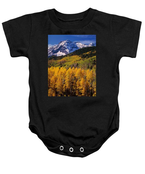 Uncompahgre National Forest Co Usa Baby Onesie