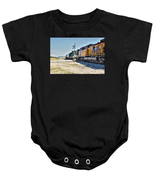 Union Pacific Baby Onesie