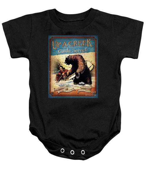 Up A Creek 2 Baby Onesie