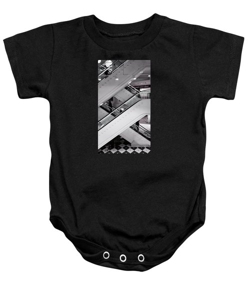 Baby Onesie featuring the photograph Up And Down by Pedro Fernandez