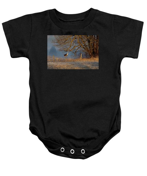 Up And Over Baby Onesie