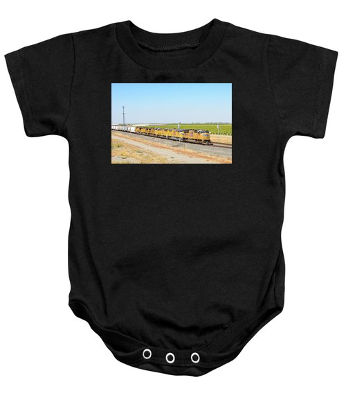 Baby Onesie featuring the photograph Up4912 by Jim Thompson