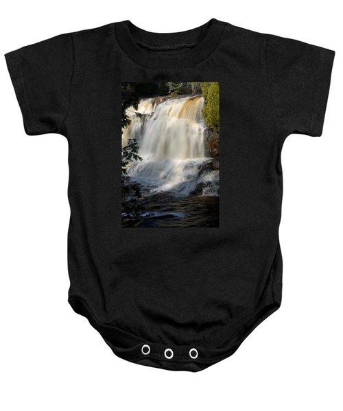 Upper Falls Gooseberry River 2 Baby Onesie