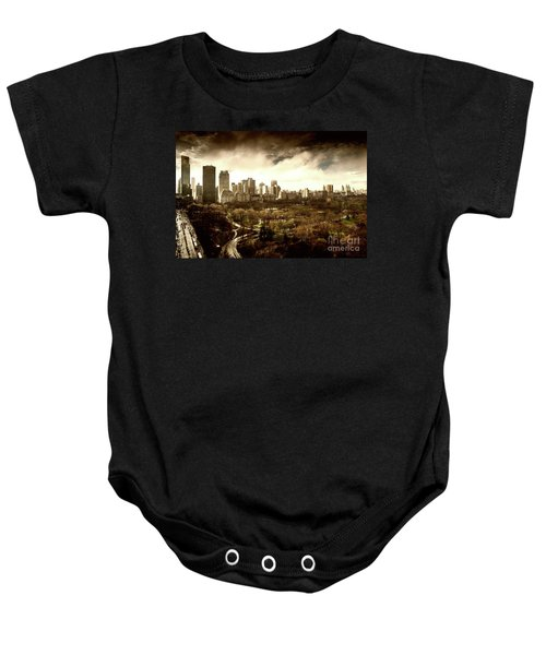 Upper West Side Of New York City Baby Onesie