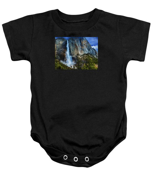 Upper Yosemite Falls Baby Onesie