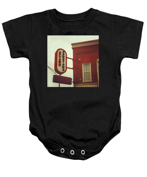 Uptown Downtown  Baby Onesie