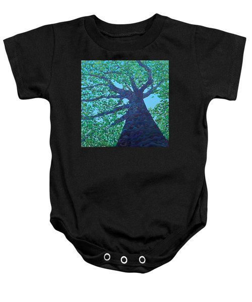 Upward Treejectory Baby Onesie