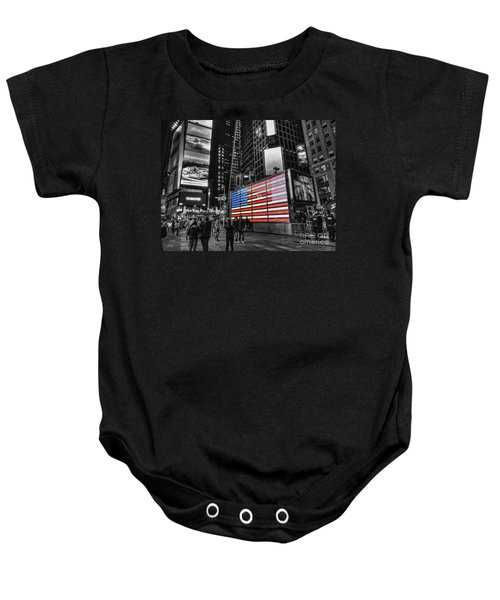 U.s. Armed Forces Times Square Recruiting Station Baby Onesie